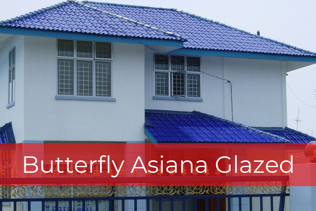 Butterfly Asiana Glazed