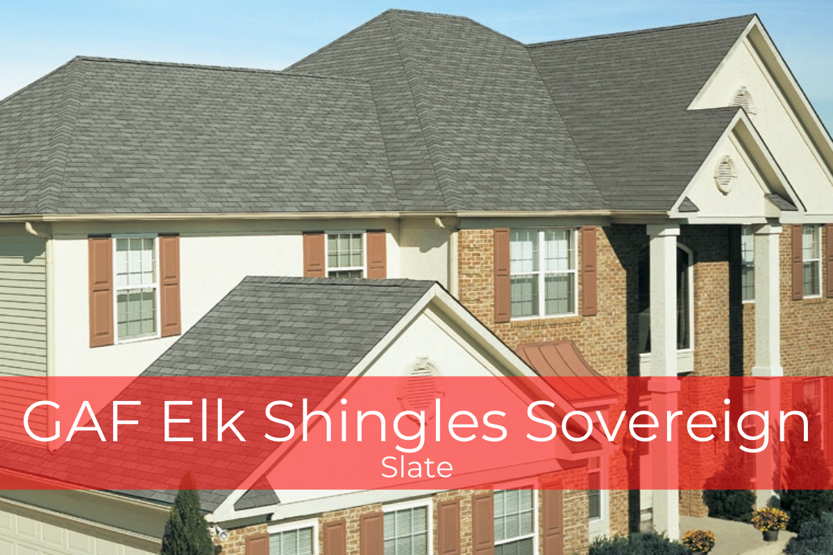 GAF Elk Shingles Sovereign Slate