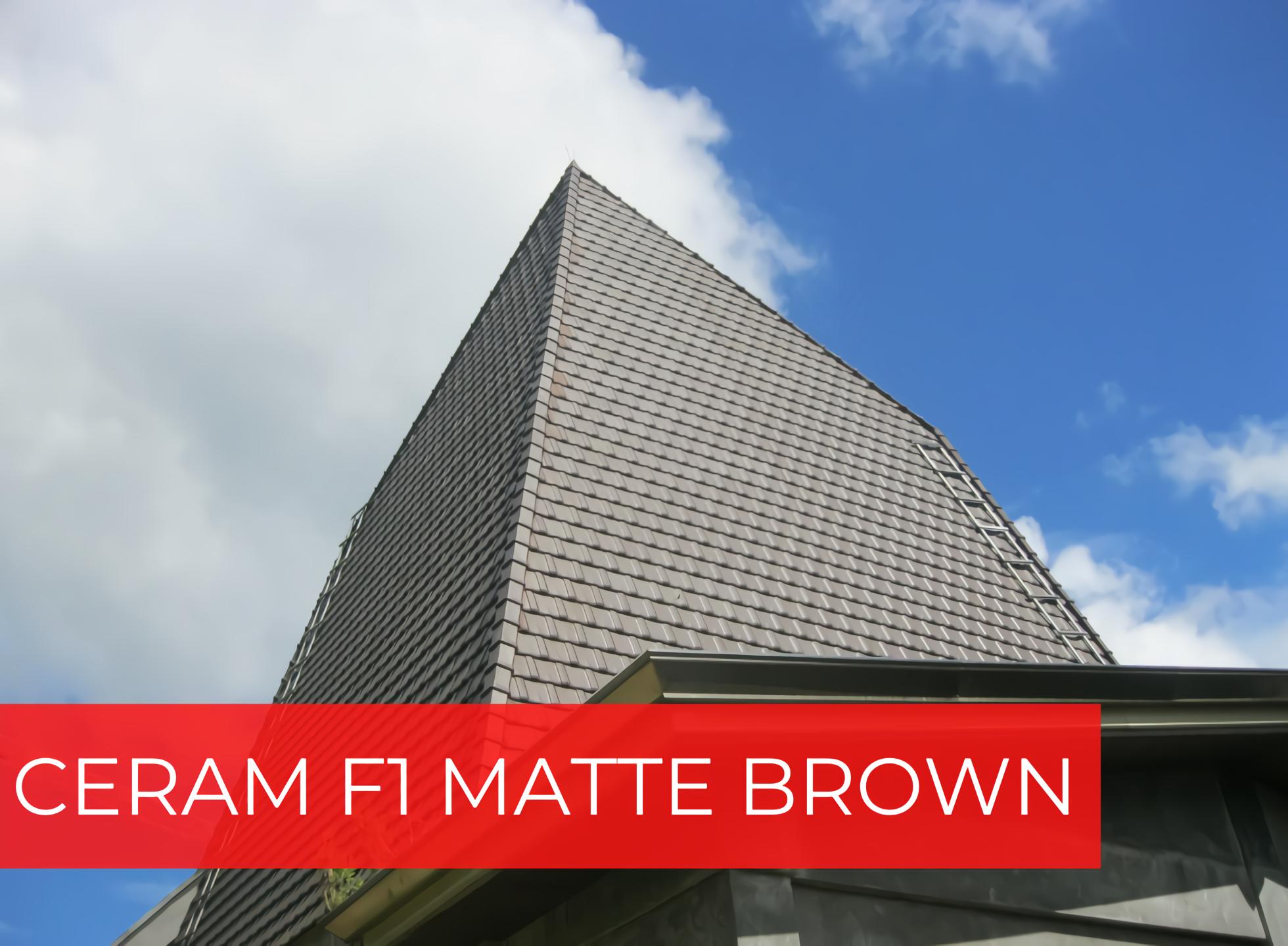 CERAM F1 MATTE BROWN photo