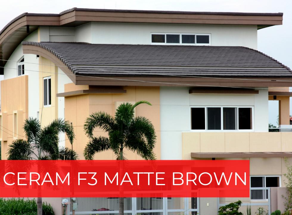 CERAM F3 MATTE BROWN photo