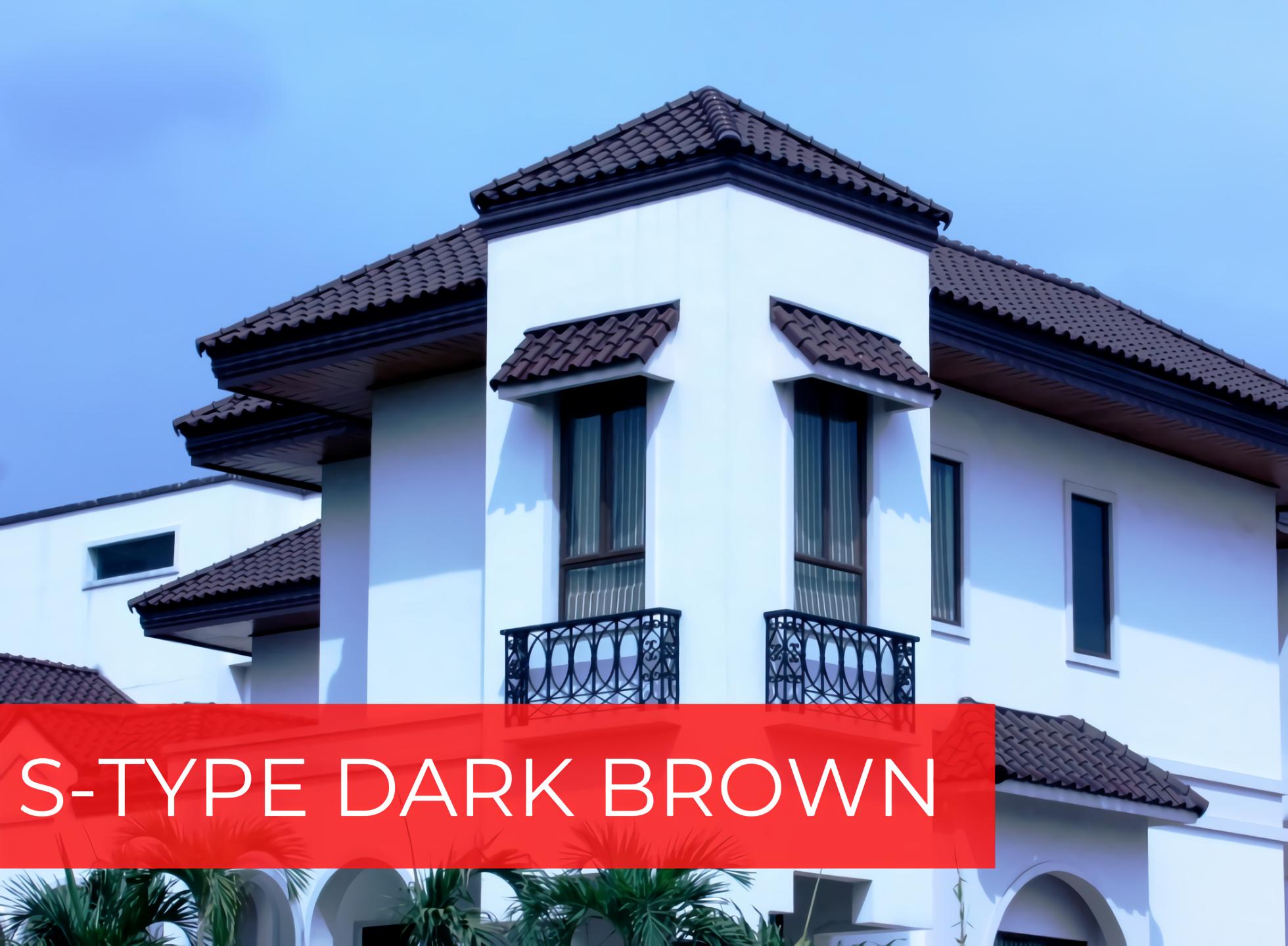 S-TYPE DARK BROWN photo