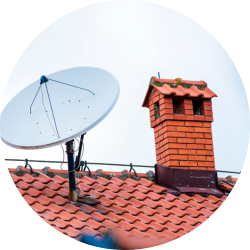 signal reception roof